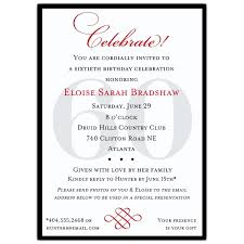 celebrate 60 birthday classic 60th birthday celebrate party invitations paperstyle