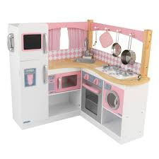 kinderk che holz rosa kidkraft grand gourmet küchenecke 53185