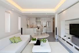 cuisine blanche ouverte sur salon cuisine ouverte sur le salon 25 idées modernes et pratiques