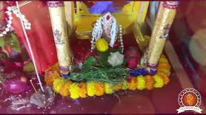 Home Ganpati Decoration Baijnath Bajpai Home Ganpati Decoration Video U0026 Ideas Www