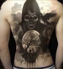 buy grim reaper tattoos and get free shipping on aliexpress com