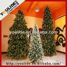 8 9 10 12feet pvc slim spruce tree with multi