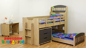Tugun Single Bunk Bed Awesome Beds  Kids - Single bunk beds