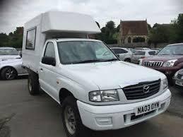 mazda b2500 mazda b2500 4x4 turbo diesel campervan 2003 03 ebay