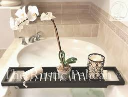 bathtub tray rustic bathtub caddy tub tray wood tub shelf