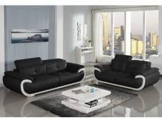 ensemble canapé 3 2 canape 3 2 places cuir pas cher convertible design
