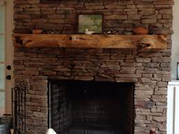 mantles made from reclaimed wood