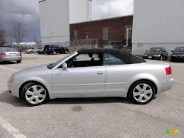 audi a4 2004 silver light silver metallic 2004 audi a4 1 8t cabriolet exterior photo