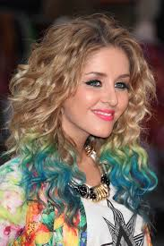 highlights for latina hair terrific trend of curly hairs with dye highlights hairzstyle com