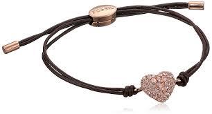 wrap wrist bracelet images Fossil glitz heart wrist wrap bracelet jewelry jpg