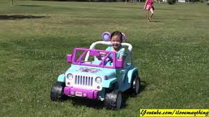 frozen power wheels sleigh toy review disney frozen ride on power wheels jeep wrangler power