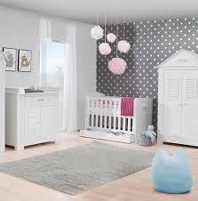 chambre bébé plage pinio plage 3 meubles lit 120x60 commode armoire 3 portes baby