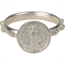 rosary ring st benedict rosary ring leaflet missal
