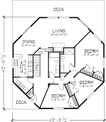 octagon home plans octagon house floor plan 1 of 2 levels dreams for my next house