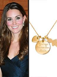 Mom Necklace With Kids Names Kate Middleton U0027s U0027mommy U0027 Necklace Becomes A Bestseller U2013 Moms