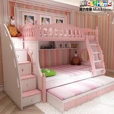 Girls Pink Bed by Bunk Bed Korean Children Bed Picture Bed Bunk Bed Childrens