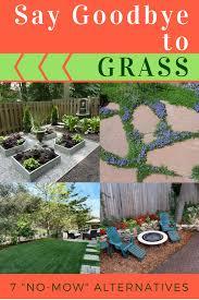 alternatives to grass in backyard goodbye grass 7 inspiring ideas for a no mow backyard