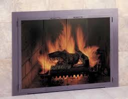 fireplace doors design specialties charleston stock glass door