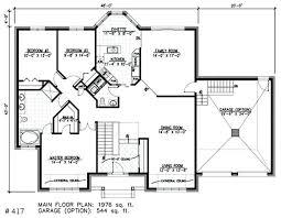 bungalow blueprints chalet bungalow plans floor plan story chalet cottage plans
