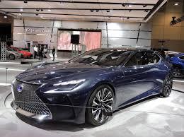 lexus toronto auto show heads turn at the canadian international autoshow