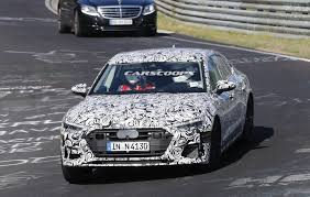 2018 audi s7 caught stretching out its bi turbo v6 at the nurburgring