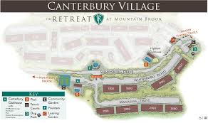 Canterbury Floor Plan by Canterbury Village Retreat At Mountain Brook