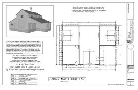 G339 52 X 38 Barn Plan Blueprint Free House Plan Reviews Free Floor Plans For Barns