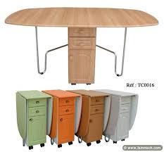 table et cuisine table et chaise gain de place trendy beautiful meuble gain de place