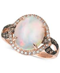 levian engagement rings le vian chocolatier opal 2 1 3 ct t w chocolate diamonds