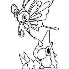wingull mudkip pikachu treecko and torchic coloring pages