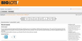 resume uploader big lots job application adobe pdf apply online