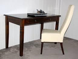 Tisch Schreibtisch Schreibtisch 130x80x64cm 2 Schubladen Pappel Massiv