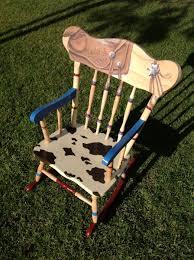 hand painted rocking chair design home u0026 interior design