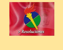 Guinea Ecuatorial Flag Resolución Número 2 Por La Que Se Actualizan Los Consejos