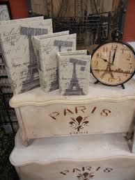 paris room decor ideas trunks clocks books bring paris home