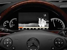 mercedes dashboard at night mechnet now detect pedestrian on your dashboard