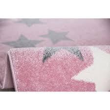 kids rugs kids rug happy rugs borderstar pink silver gray 120x180cm 119 00