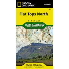 Loveland Colorado Map by Colorado National Geographic Store