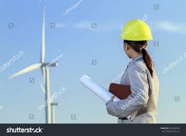 portrait women asia engineer working holding stock photo 240709363