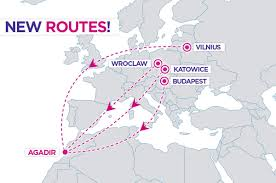 Finnair Route Map by Wizz Air Announces New Routes From Four European Cities To Agadir