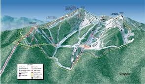 Tennessee Mountains Map by Trail Map For Silver Mountain Ski Area In Northern Idaho