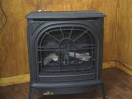 napoleon black vent free natural gas cast iron freestanding stove
