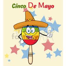cartoon cinco de mayo royalty free happy colorful mexican maracas cartoon mascot character