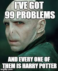I Got 99 Problems Meme - voldemort memes imgflip