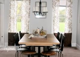 dining room window treatment ideas christmas lights decoration