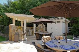 modern and classic outdoor kitchen dining design orchidlagoon com