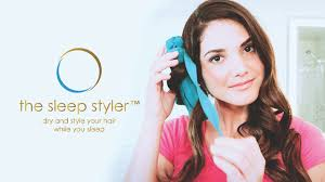 Can You Sleep With Hair Extensions by Sleep Styler World U0027s First Heatless Straightener U0026 Curler By The