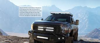 Extreme Led Light Bar by Auxbeam Chevrolet Silverado Led Lighting Modifications
