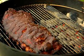 bbq ribs on a weber grill an easy how to recipe