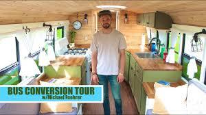 gorgeous school bus tiny house rv conversion tour youtube gorgeous school bus tiny house rv conversion tour